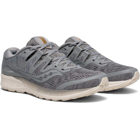 saucony Ride ISO Shoes Men Grey Shade